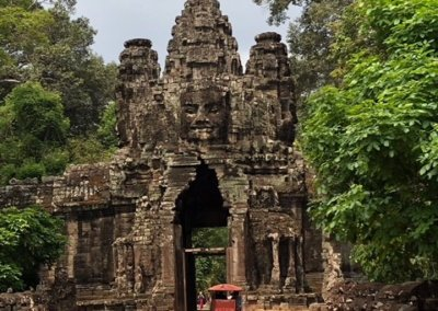 Cambodia Temple.