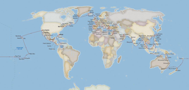 World Cruise 2021 – Oceania Cruises