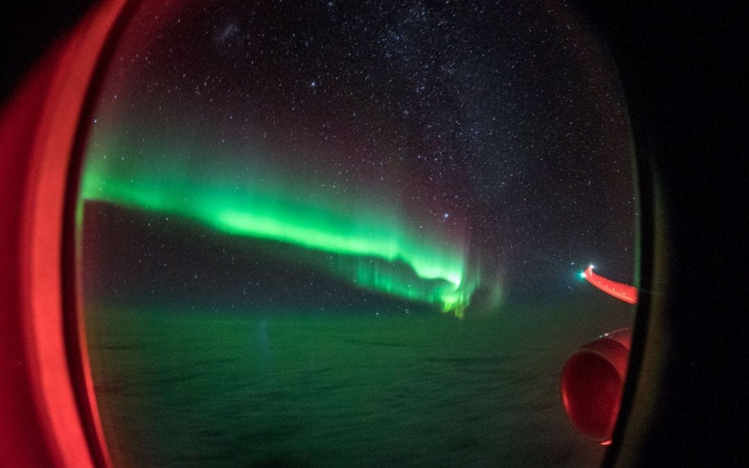 Southern Lights by Flight with Viva Expeditions