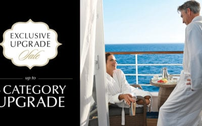 Exclusive Upgrade Sale with Oceania Cruises