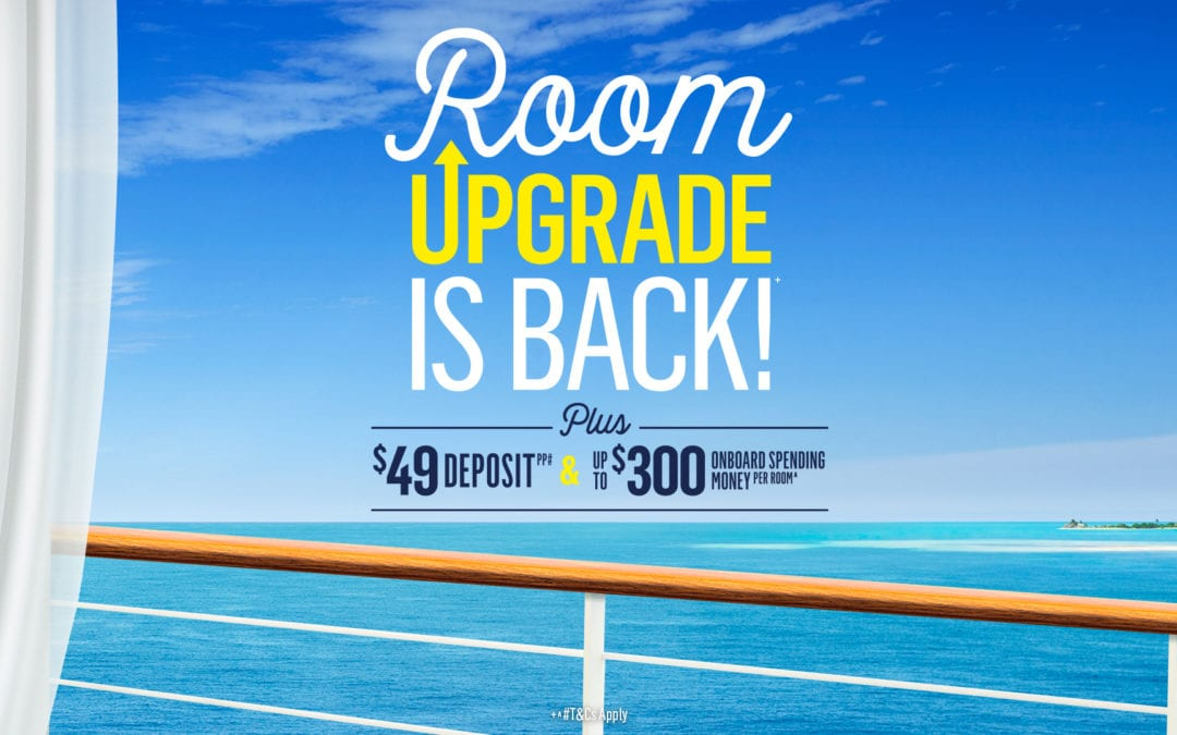 Room Upgrade is Back with P&O Cruises
